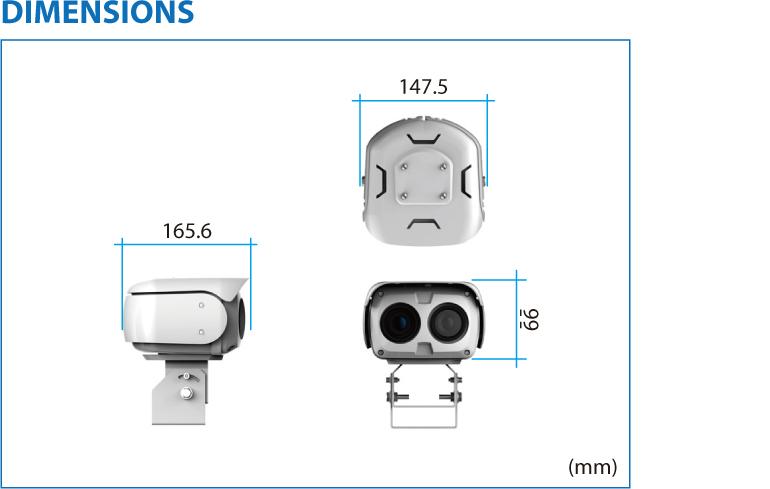 TBT Multi Sensors Thermal Imaging Weatherproof Camera TPV-SD-BDT 1