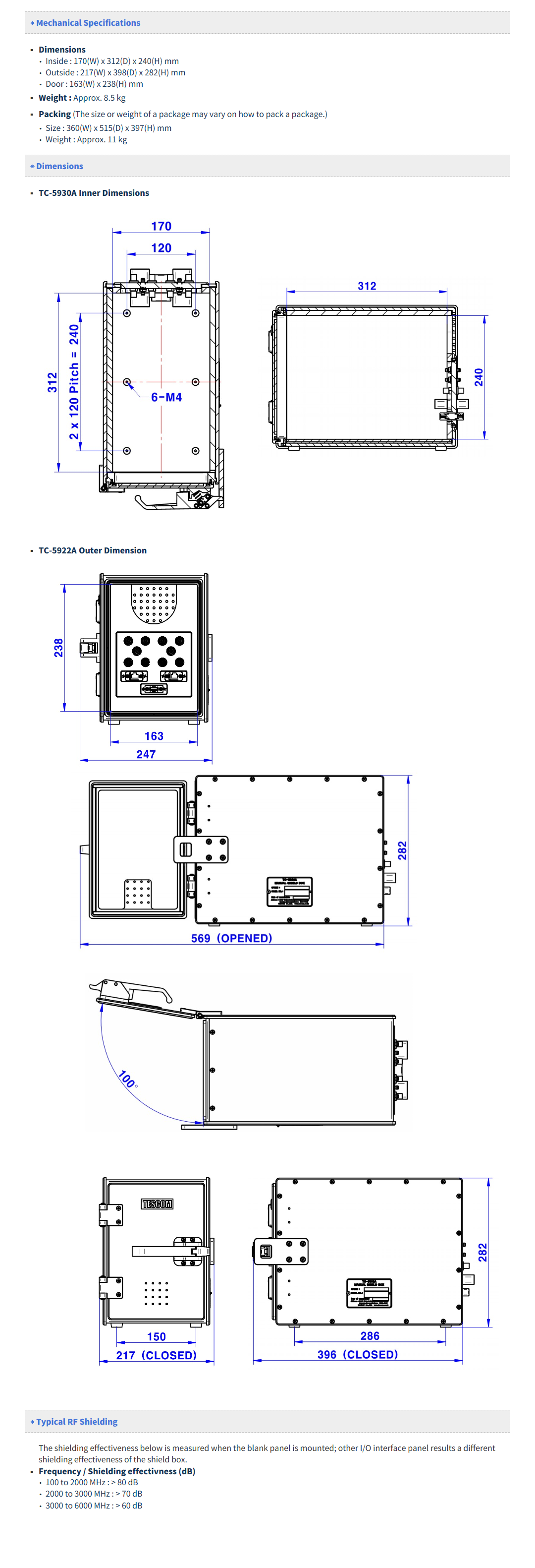 Tescom Manual Operation TC-5930A/AR 1