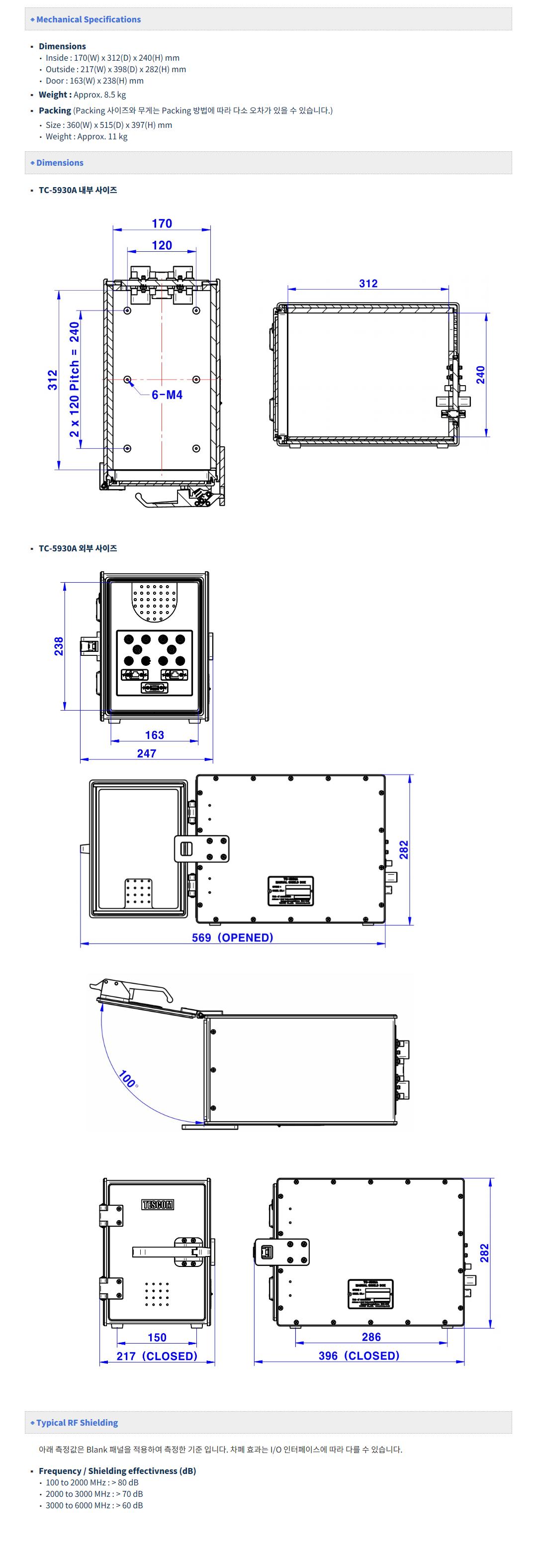 (주)테스콤 Manual Operation TC-5930A/AR 4