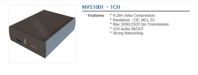 TEVICOM Network Video Server