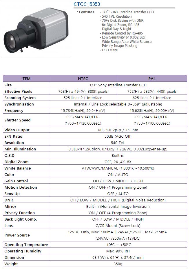 TEVICOM  CTCC-5353