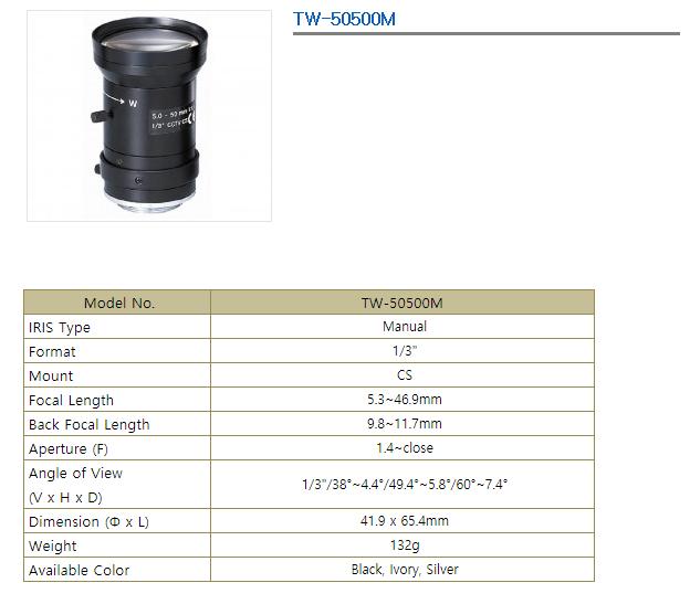 TEVICOM  TW-50500M