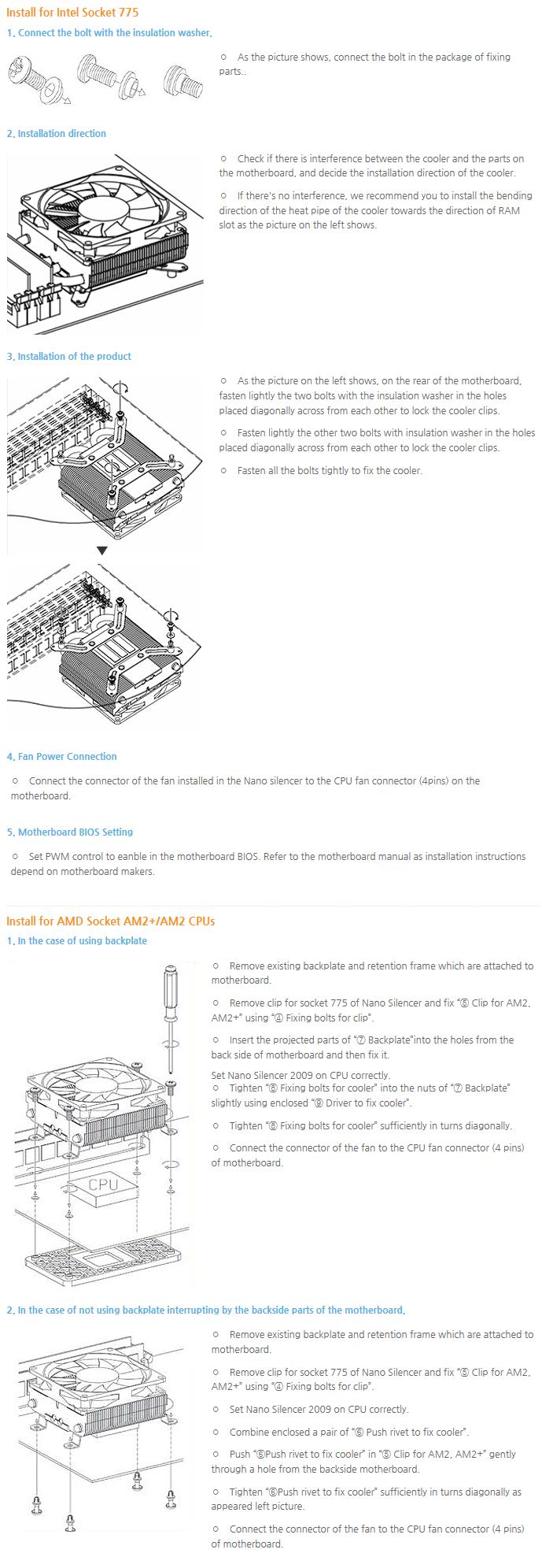Thermolab CPU Cooler (Ultra Slim, Strong) Nano Silencer 2009 2