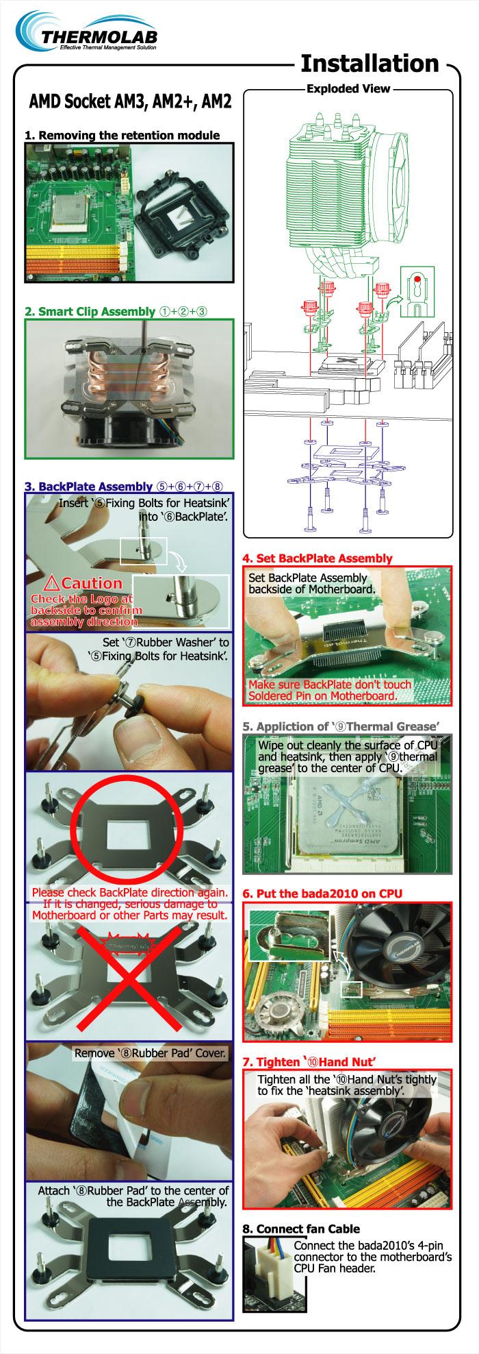 Thermolab CPU Cooler (Quiet Cooling) bada2010 5