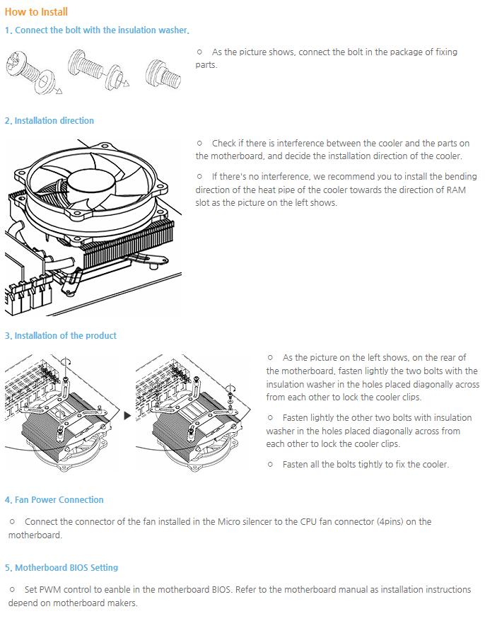 Thermolab CPU Cooler (Micro Wave) Micro Silencer 2
