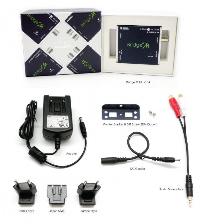 (주)디지털포캐스트 Bridge M Series (Micro Type Converter)  12
