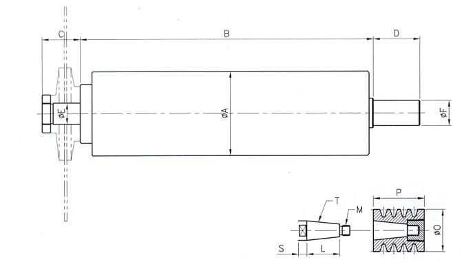 (주)팀스핀들 컷팅용 스핀들 TCS Series