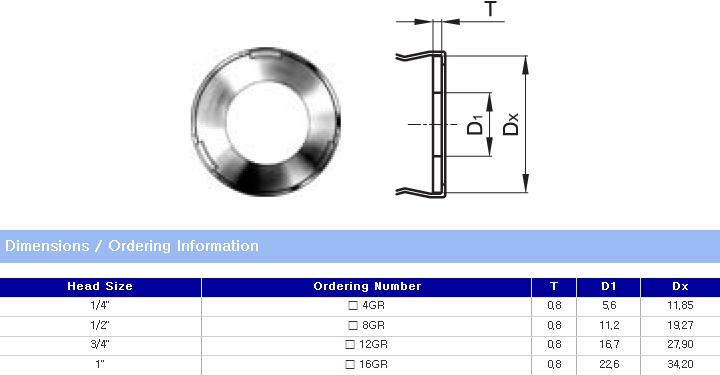 TK FUJIKIN Metal Seal Fitting  3