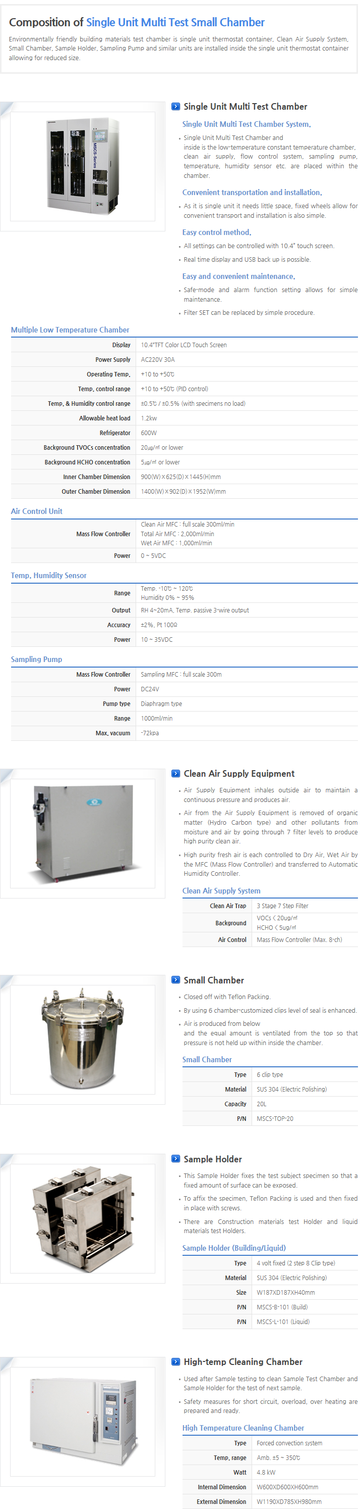 Top Trading Eng Small Chamber System  1