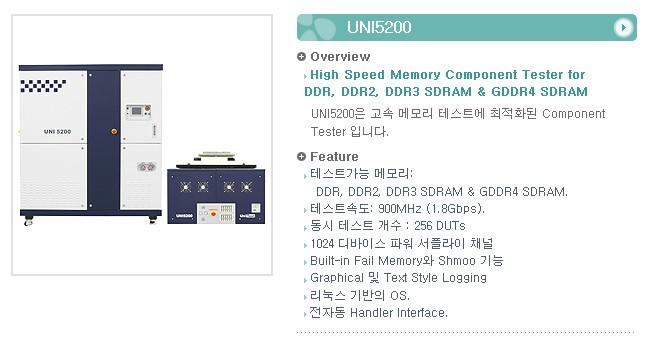 유니테스트 Component Tester UNI5200 1