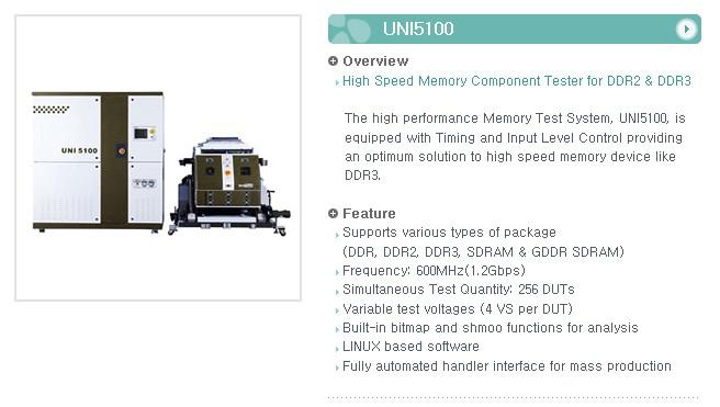 UNI TEST Component Tester UNI5100