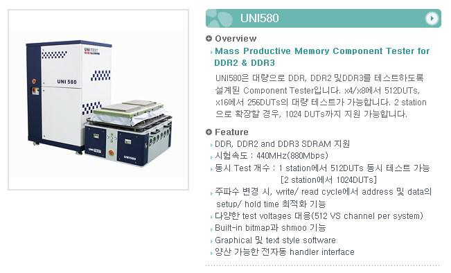 유니테스트 Component Tester UNI580 1