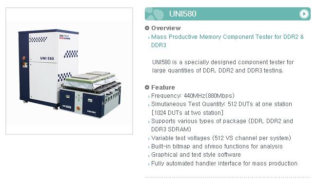 UNI TEST Component Tester UNI580