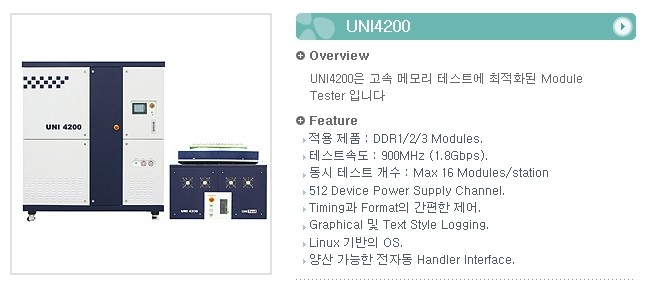 유니테스트 Module Tester UNI4200 1