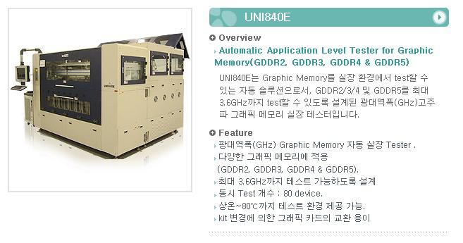 유니테스트 Application Level Tester UNI840E 1