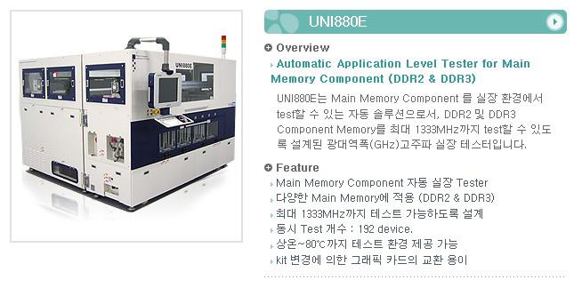 유니테스트 Application Level Tester UNI880E 1