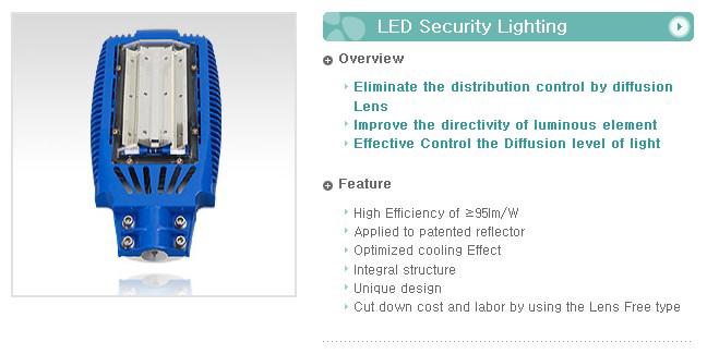 UNI TEST LED Security Lighting