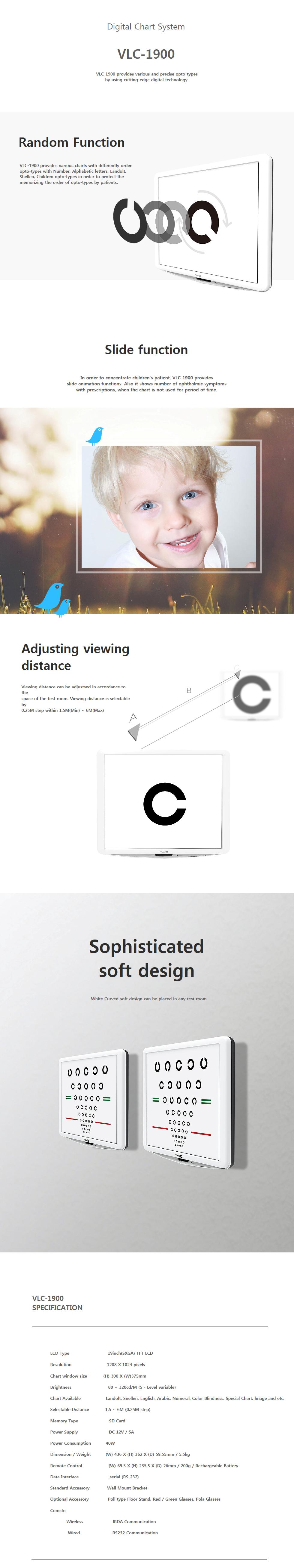 VIEW-M TECH Digital Chart System VLC-1900