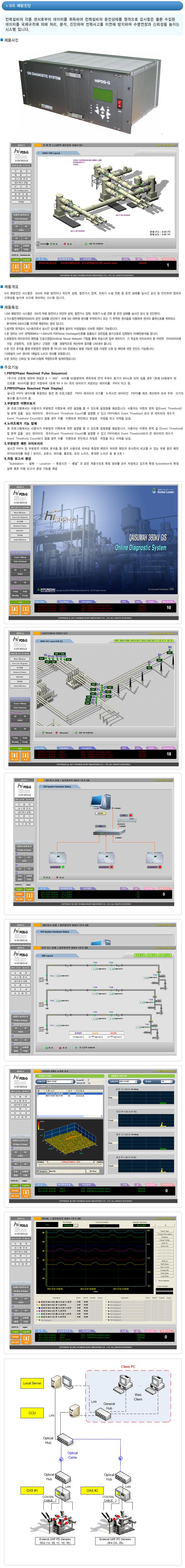 케이엠데이타 GIS 예방진단 시스템 HiPDS-G, HiPDS-M