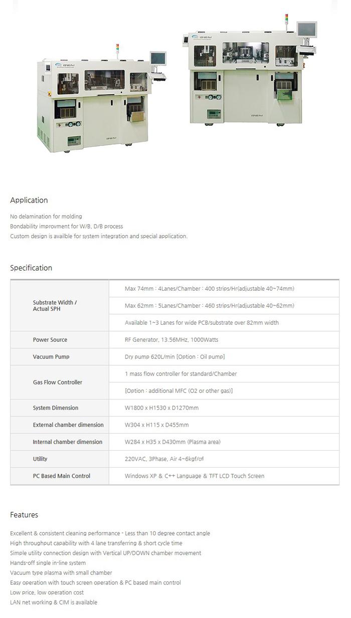 VISION SEMICON Direct Plasma VSP-88D Pro1