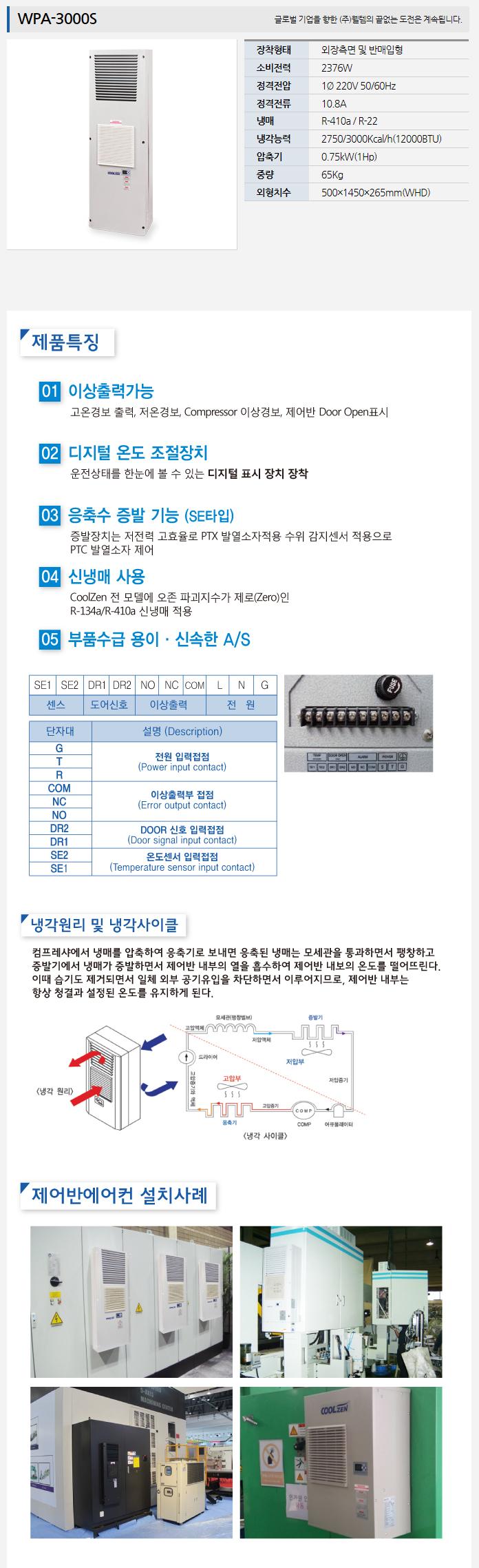 (주)웰템  WPA-3000S