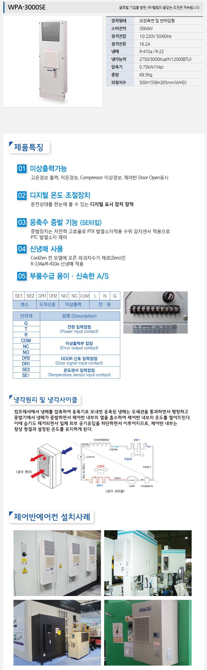 (주)웰템  WPA-3000SE