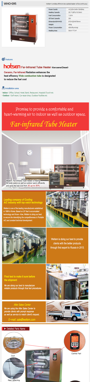 WELTEM Far Infrared Heater WHO-095
