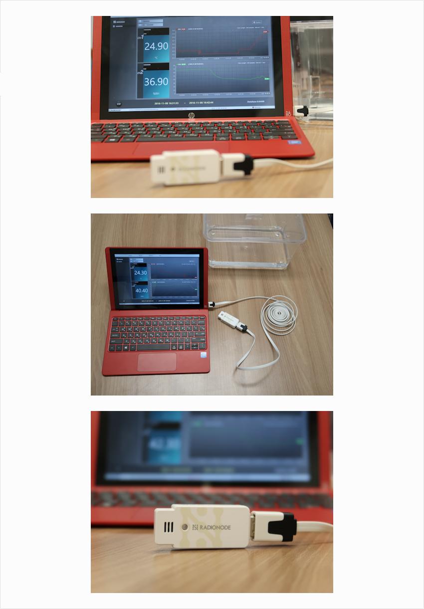 (주)와이즈맥스 USB 온습도 센서 UA10 3