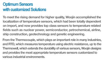 Woojin Sensing Temperature Sensors