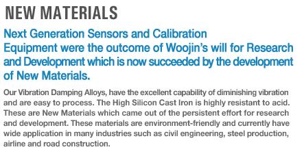 Woojin Sensing New Materials