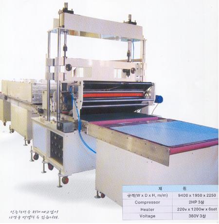 우리산업주식회사 마블칼라코팅기계  1