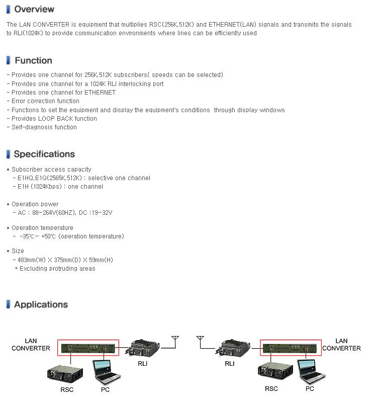 Wooribyul LAN Converter