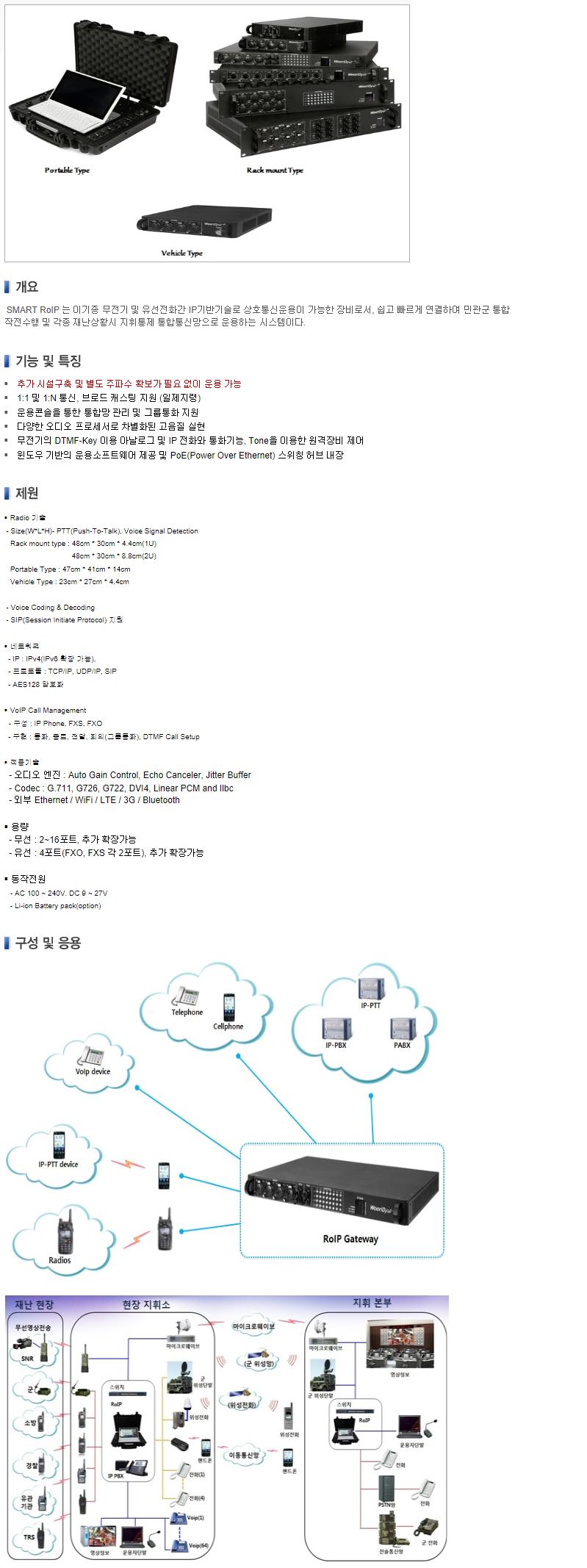 (주)우리별 유ㆍ무선 통합연동장비 (ROIP)  1