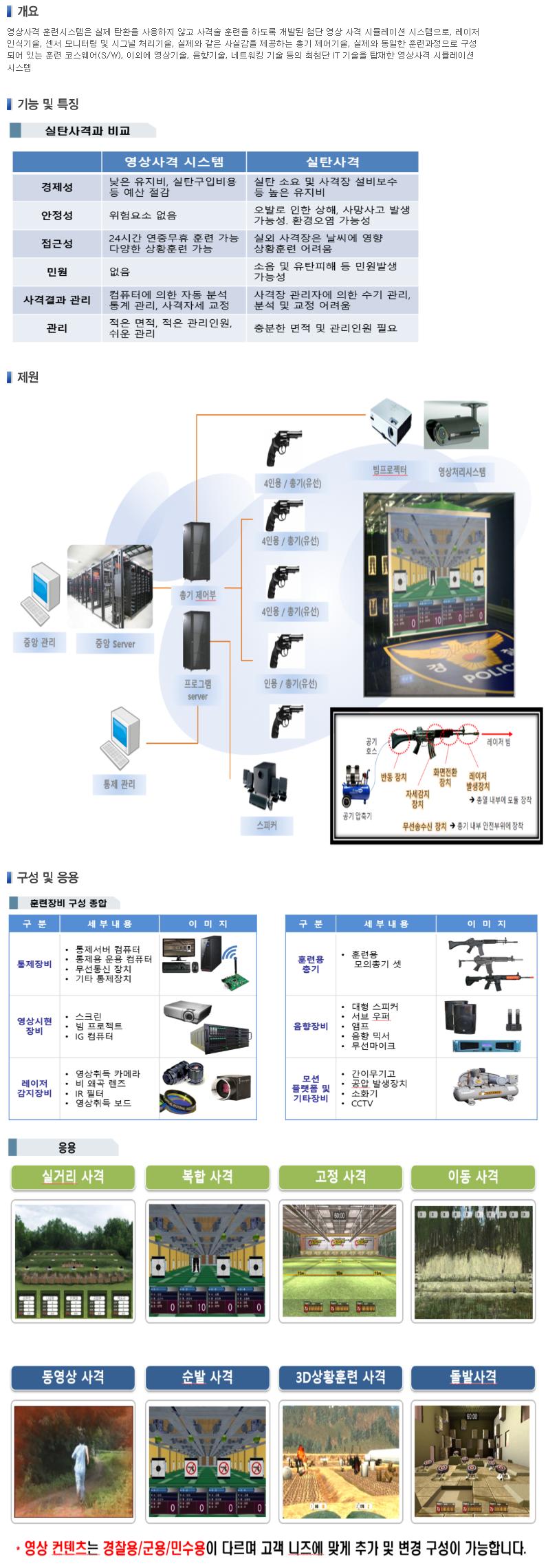 (주)우리별 영상사격 훈련시스템  1