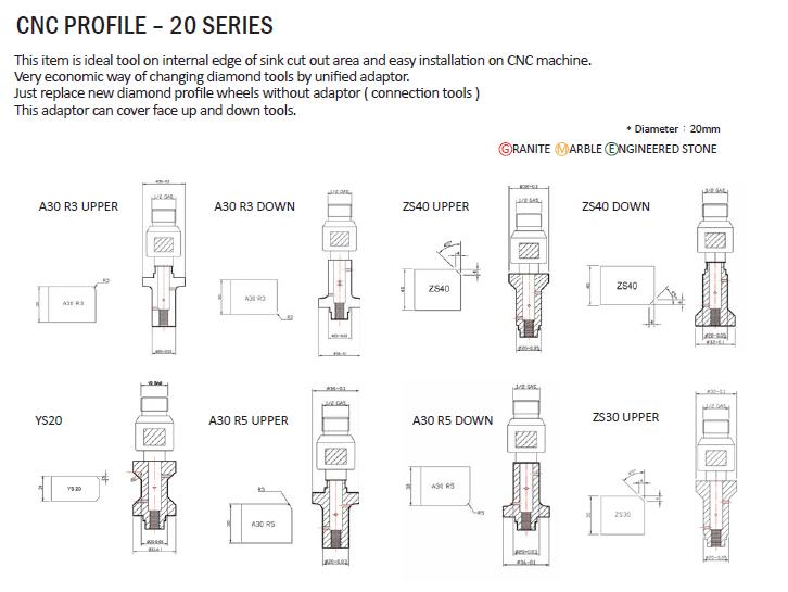 WOOSUK CNC Profile - 20 Series