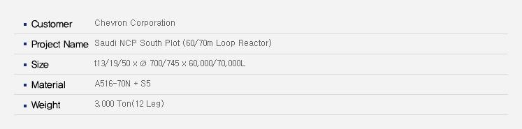 우양에이치씨 Reactor  32