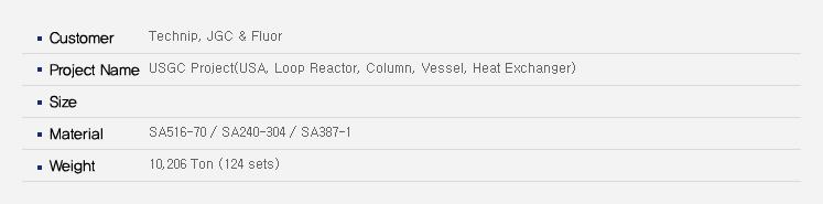 우양에이치씨 Reactor  20