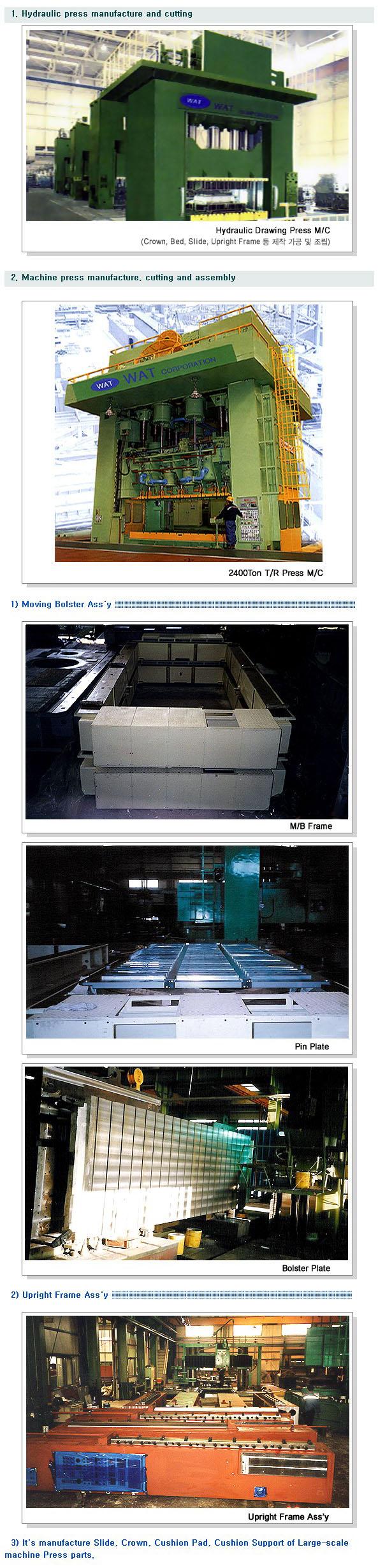 World Ace Tech Corp. Large Press