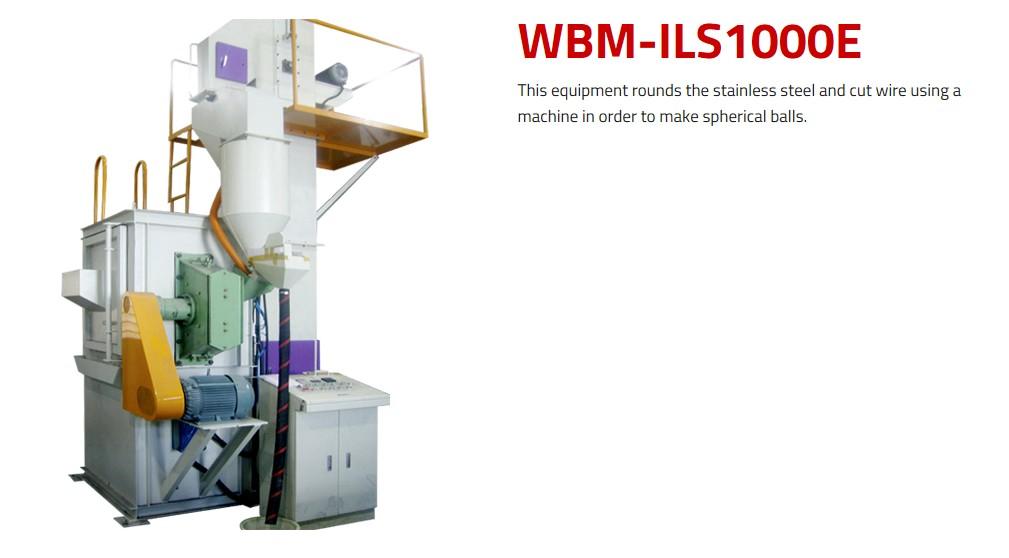 WORLD BALST Round Shot WBM-ILS/ILS1000E 1