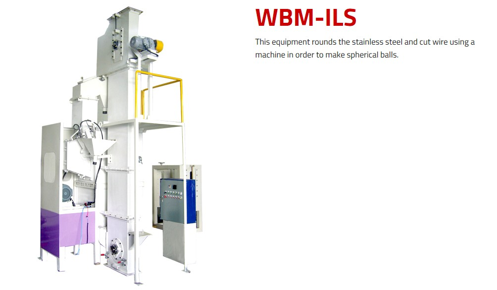 WORLD BALST Round Shot WBM-ILS/ILS1000E