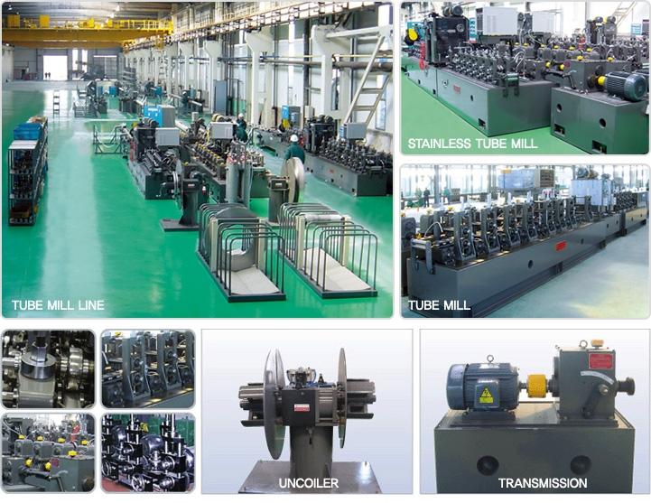 WOOSUNG MACHINE Tube Mill Machine WS-Series