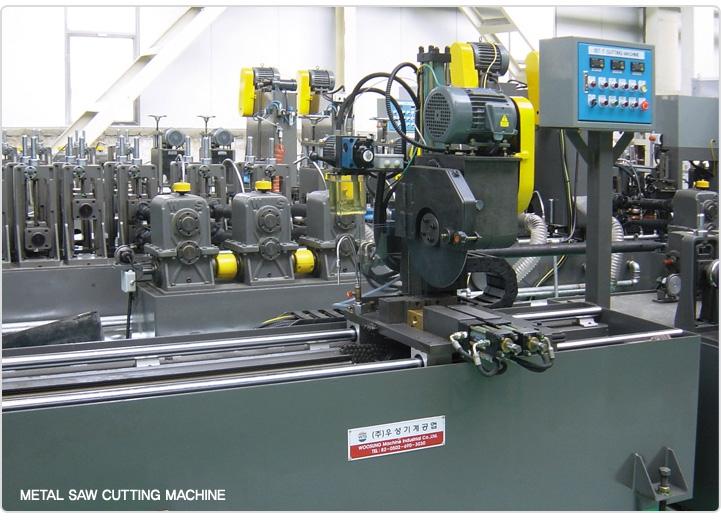 WOOSUNG MACHINE Metal Saw Cutting Machine WS-Series 1
