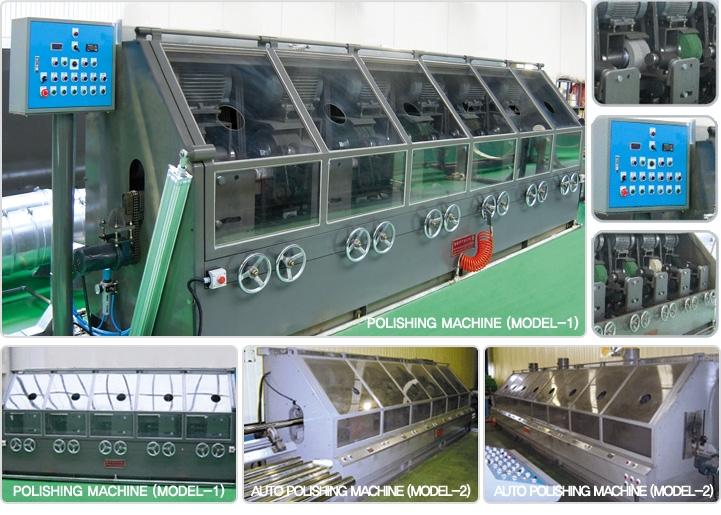 WOOSUNG MACHINE Polishing Machine WS-Series