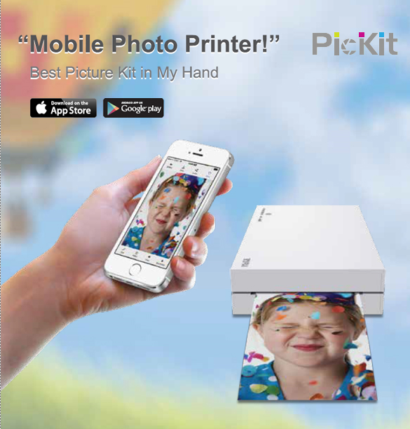 XMPD Mobile Photo Printer PicKit