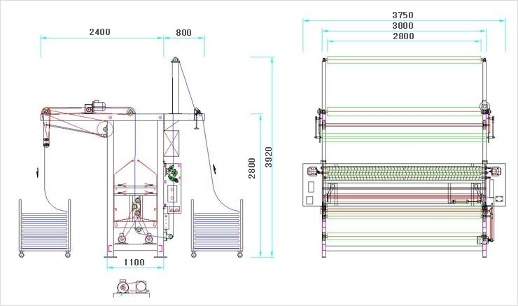 YOULLIN MACHINE Spray M/C HCS-50A