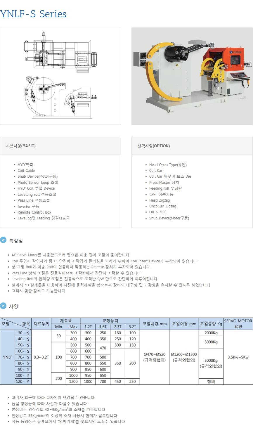 영림기계 NC Leveller Feeder  6