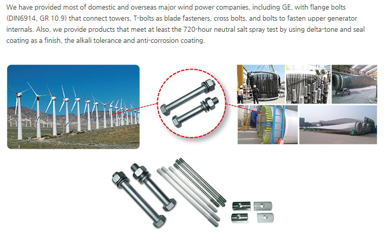 Younhap Fasteners Wind Power
