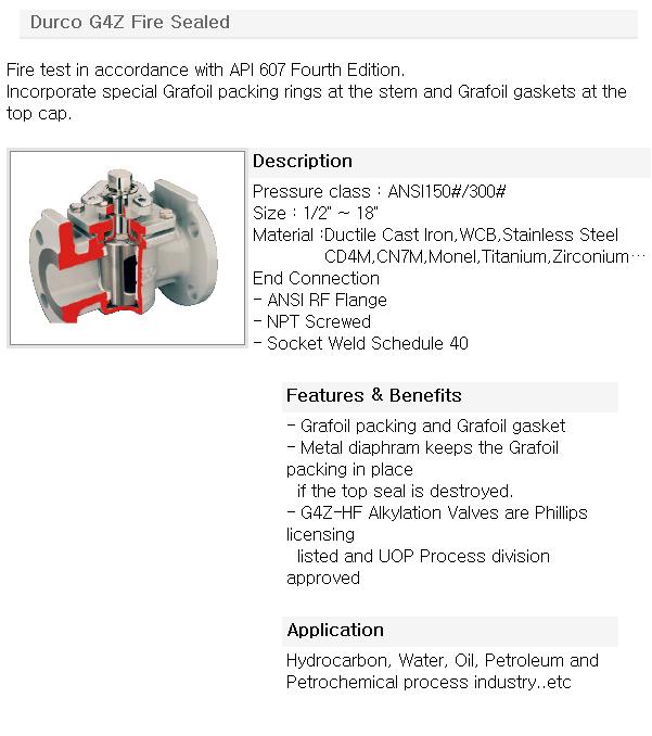 영풍정밀 Flowserve Valve - Durco Manual Valve  1