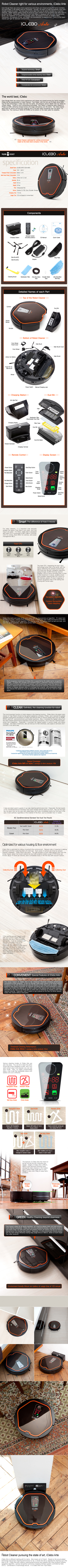 YUJIN ROBOT iClebo Arte YCR-M05-10