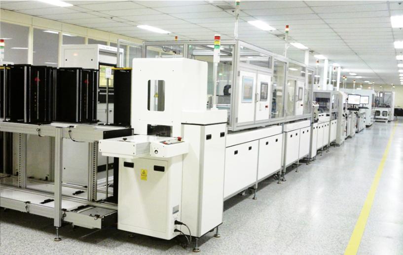 유진로봇 SMK ECU Assembly and Test Line